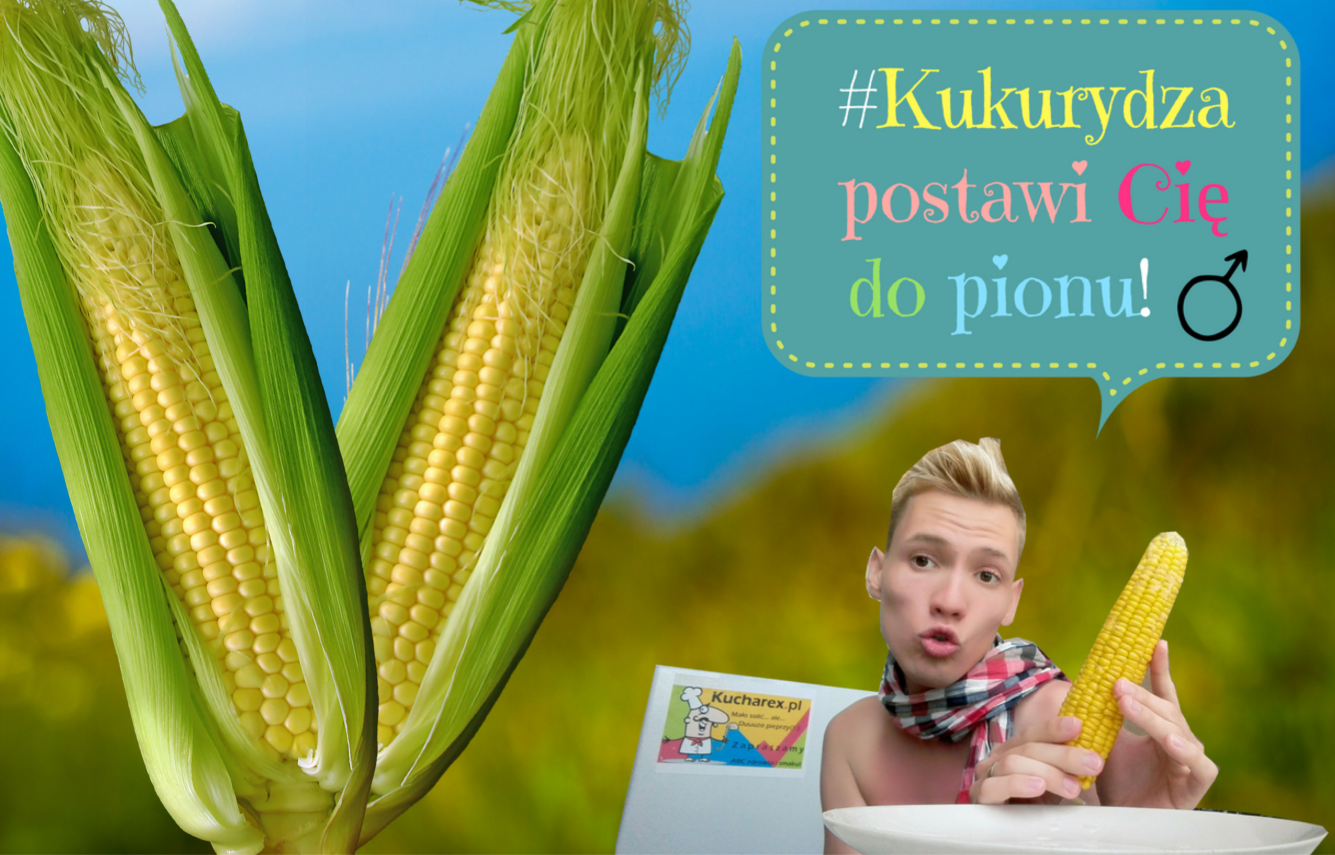 #Kukurydza postawi Cię do pionu! ♂ ☺