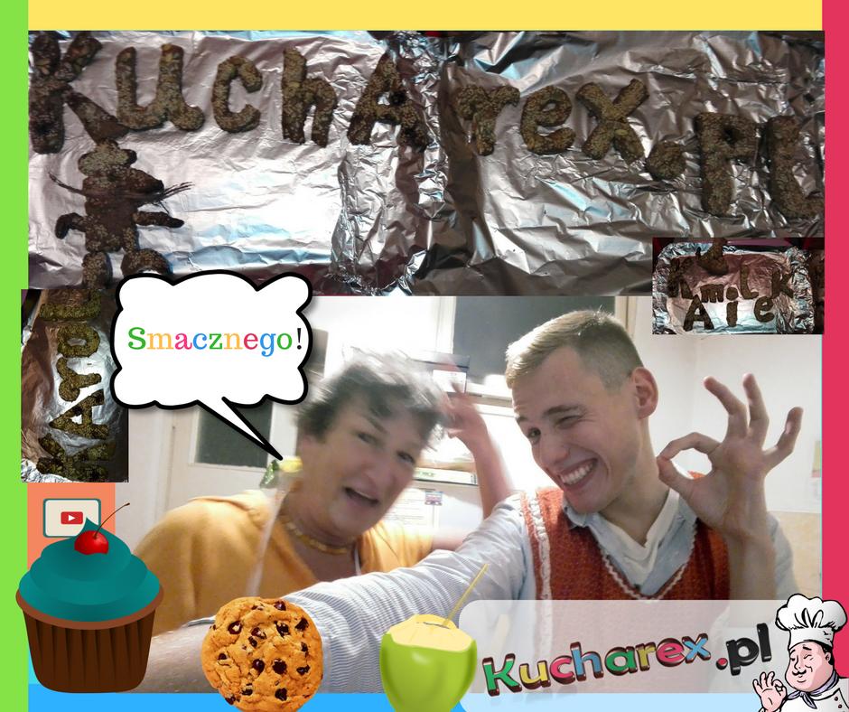 Przepis na zdrowe ciastka domowe (Karolek & ŚmiechAsia)